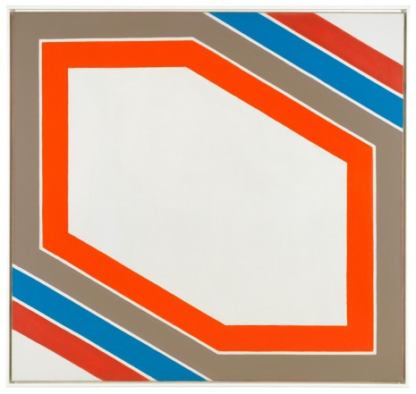 Imre Bak, Stripes VII, 1967 , The Mayor Gallery