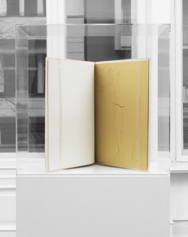 Andy Warhol, A Gold Book, ca. 1957, Galerie Buchholz