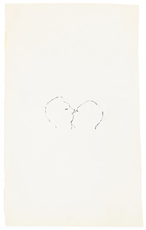 Andy Warhol, Kiss, ca. 1953 , Galerie Buchholz