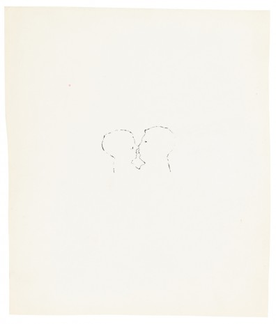 Andy Warhol, Kiss, ca. 1953, Galerie Buchholz