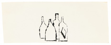 Andy Warhol, Bottles, ca. 1954 , Galerie Buchholz
