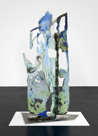 Donna Huanca, CHORDATA (KUKO), 2019, Peres Projects