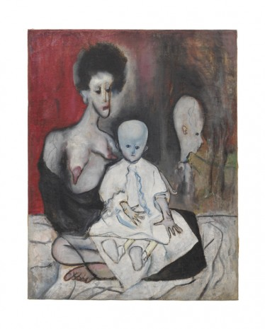Alice Neel, Degenerate Madonna, 1930, David Zwirner