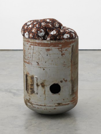 Elad Lassry, Untitled (Pod, Brown Floral, 3), 2018 , 303 Gallery