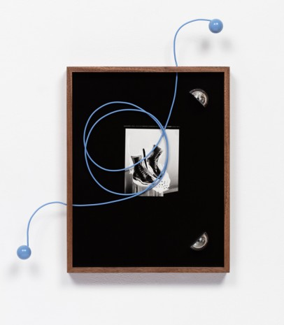 Elad Lassry, Untitled (Boots, Blue Cord), 2018 , 303 Gallery