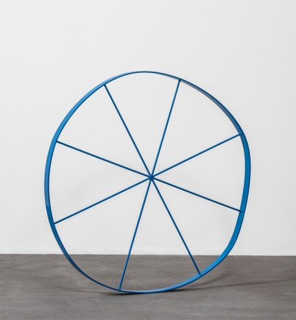 Gary Hume, The Wonky Wheel (Blue), 2018 , Matthew Marks Gallery