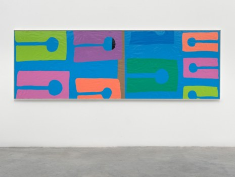 Gary Hume, The Beach, 2018 , Matthew Marks Gallery