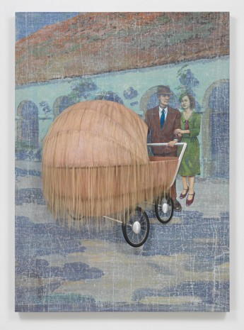 Jim Shaw, And Baby Makes Three?, 2018 , Metro Pictures