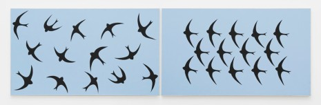 John Wesley, Swallows, 1987 , Alison Jacques Gallery