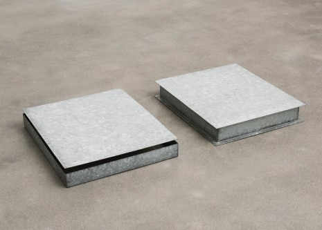 Donald Judd, Untitled (two pieces), 1971 , Alison Jacques Gallery