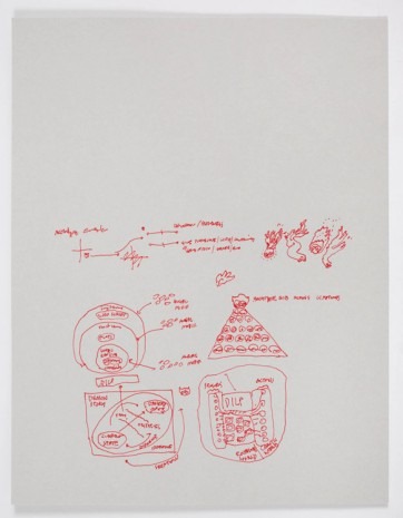 Ian Cheng, BOB: Production Drawings, 2018-2019 , Gladstone Gallery