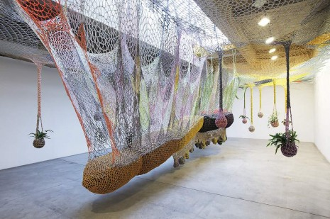 Ernesto Neto, The Sun Lits Life, Let the Son, 2012, Tanya Bonakdar Gallery