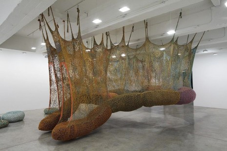 Ernesto Neto, The Island Bird, 2012, Tanya Bonakdar Gallery
