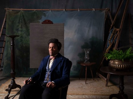 Isaac Julien, J.P. Ball Studio 1867 Douglass (Lessons of The Hour), 2019 , Metro Pictures
