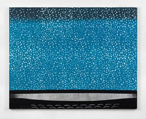 Dexter Dalwood, Snow Screen, 2018 , Simon Lee Gallery