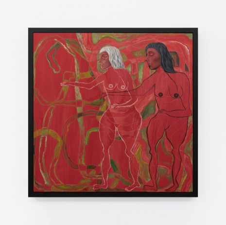 Trulee Hall, Eve and Eve (From The Serpent Dance for The Red Witches), 2018, Maccarone