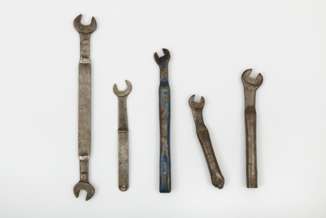 Jorge Pardo, Adjusted Wrenches, 1990, Petzel Gallery