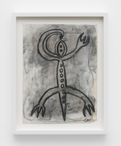 Chris Martin, Flute Lizard, 1984, David Kordansky Gallery
