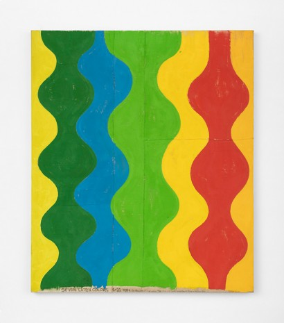 Chris Martin, Seven latex colors, 1989 , David Kordansky Gallery