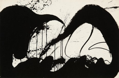Norman Bluhm, Untitled, 1973, Hollis Taggart