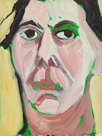 Chantal Joffe, Self-Portrait IV, August, 2018 , Victoria Miro Gallery