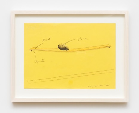 Keiji Uematsu, Project Drawing, 1982 , Simon Lee Gallery