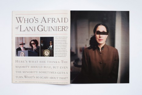 Robert Heinecken, Revised Magazine / New York Times #3, 1994, Rhona Hoffman Gallery