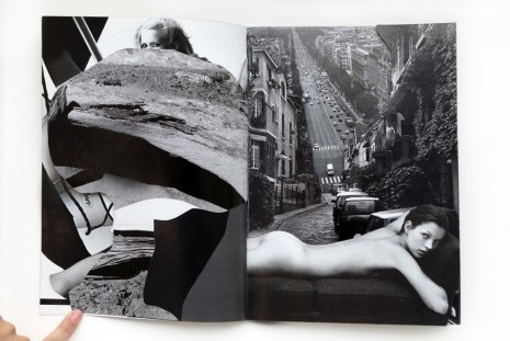 Robert Heinecken, Compromised Magazine / B + W / Cut, 1994, Rhona Hoffman Gallery