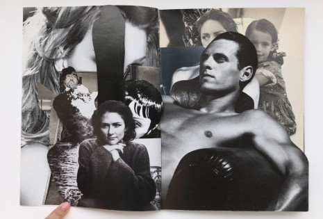 Robert Heinecken, Compromised Magazine / B+W / Cut, 1994 , Rhona Hoffman Gallery