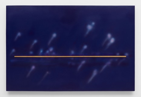 De Wain Valentine, Purple Illuminated Skyline, 1997 , Almine Rech