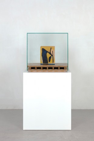 Mark Manders, Floor with Painted Wooden Object, 2018 , Tanya Bonakdar Gallery