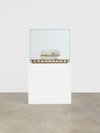 Mark Manders, Composition with Two Yellow Horizontals, 2005-19, Tanya Bonakdar Gallery
