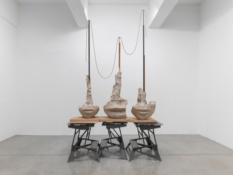 Mark Manders, Still Life with Thin Yellow Rope, 2015-19 , Tanya Bonakdar Gallery