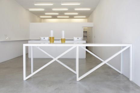 Liam Gillick, Projected Foyer Table, 2012, Casey Kaplan