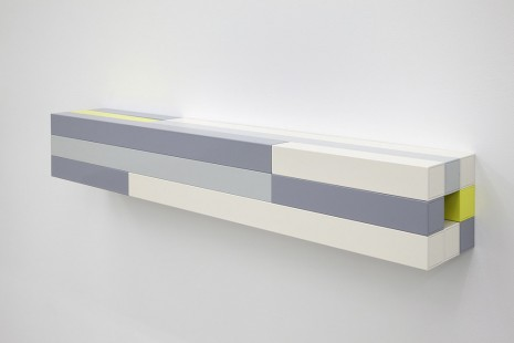 Liam Gillick, Dependent Wall Unit (Ivory),, 2012, Casey Kaplan