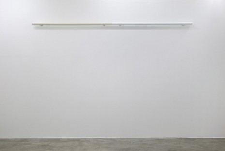 Liam Gillick, Restrained Roundrail (White), 2012, Casey Kaplan