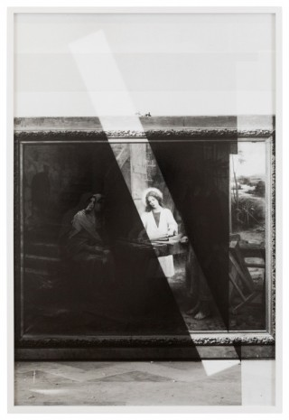 Lisa Oppenheim, The Holy Family, by Fran ois le Fond, 1900/2019 (Version I), 2019   