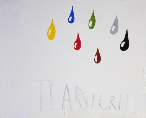 Walter Swennen, Tears for N, 2011, aliceday