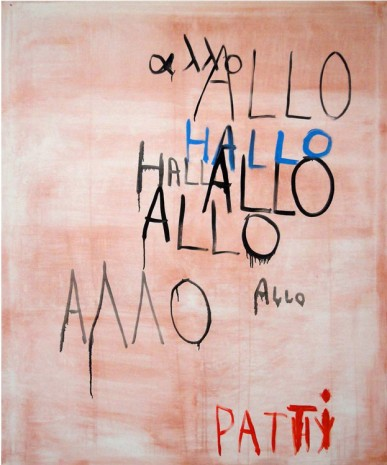 Walter Swennen, Allo Patti, 2011, aliceday