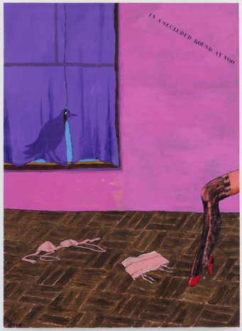 Robert Colescott, Crow in the Window, 1978 , Blum & Poe