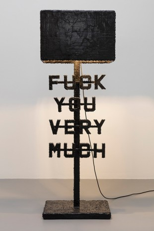 Atelier Van Lieshout, Fuck You Very Much, 2019 , Giò Marconi