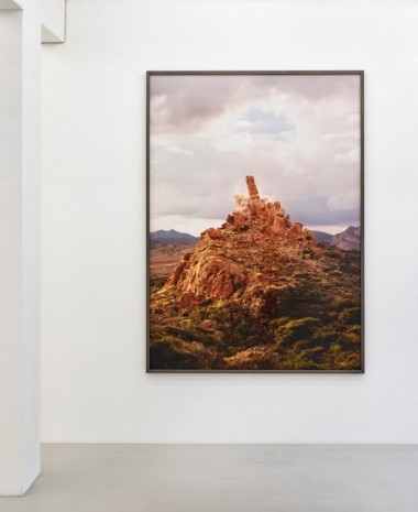 Julian Charrière + Julius von Bismarck, Island in the Sky, We Must Ask You to Leave (vertical viewpoint), 2018, Sies + Höke Galerie
