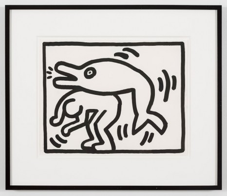 Keith Haring, Untitled, 1988, Gladstone Gallery