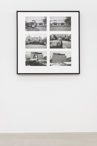 Allan Sekula, Attempt to correlate social class with elevation above main harbor channel (San Pedro, July 1975), 1975-2011 , Marian Goodman Gallery