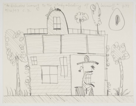 Carroll Dunham, Sketches for The Alienist, 1997, Blum & Poe