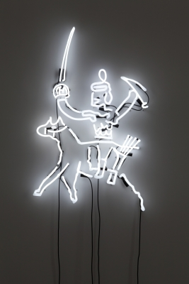 Victor Man, The Child of Their Mutual Artistry, 2009-2012, Blum & Poe