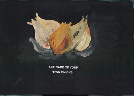 Laure Prouvost, Take care of your own onions, 2018 , Galerie Nathalie Obadia
