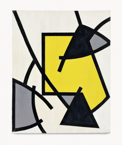 Soto, Untitled (Composition dynamique), 1951 , Hauser & Wirth