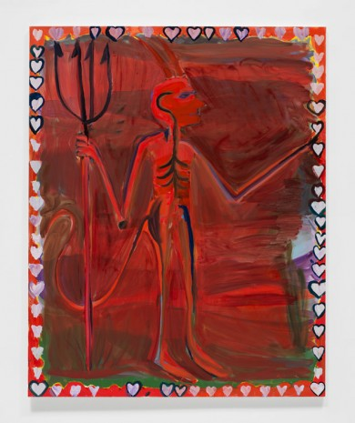 Josh Smith, Devil, 2019 , David Zwirner