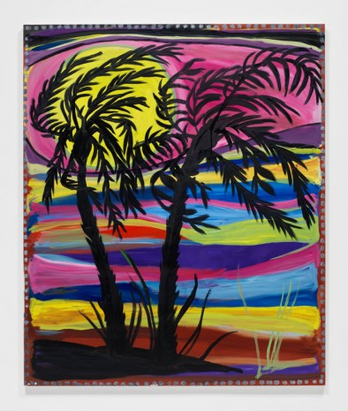 Josh Smith, Palms #3, 2019 , David Zwirner